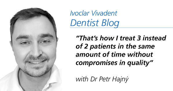Popular post - Dentist Dr Petr Hajný: That's how I treat 3 instead of 2 patients in the same amount of time