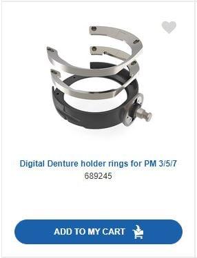 PM7 Denture holder