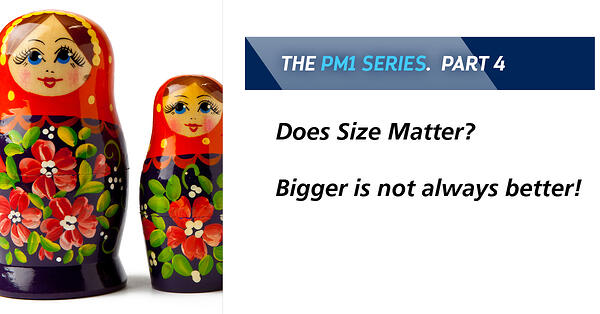 Related post - Does Size Matter? Bigger is not always better!